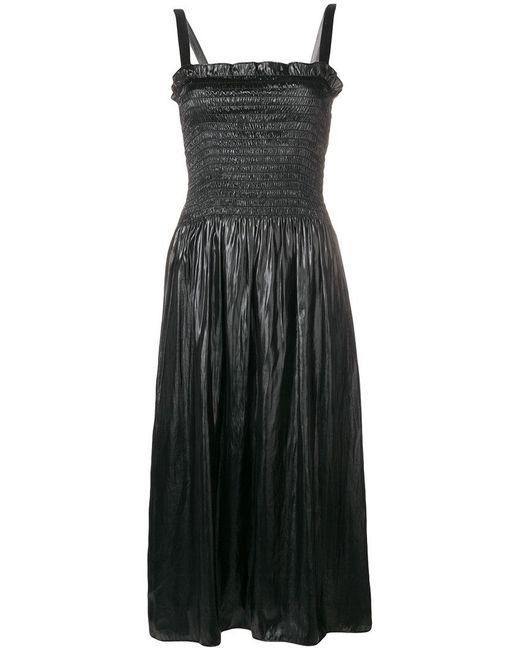 MM6 by Maison Martin Margiela - Black Elasticated Chest Dress - Lyst