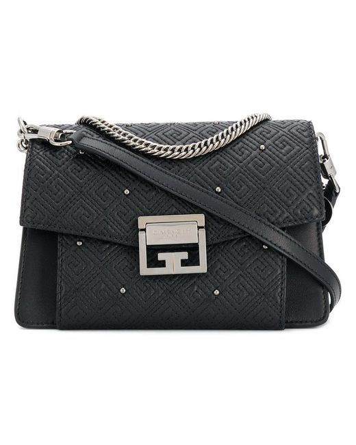 Givenchy - Black Gv3 Quilted Bag - Lyst