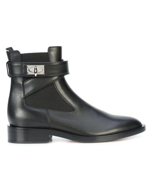 Givenchy シャークロック ブーツ Black