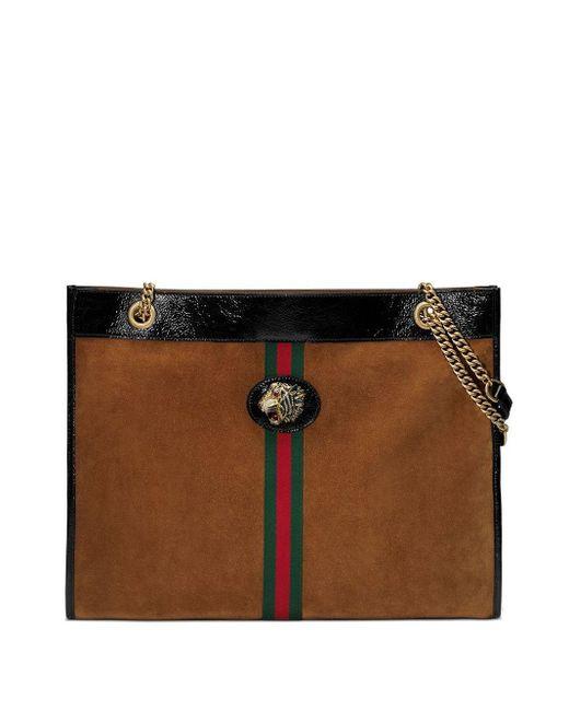 Gucci ラジャ トートバッグ L Multicolor