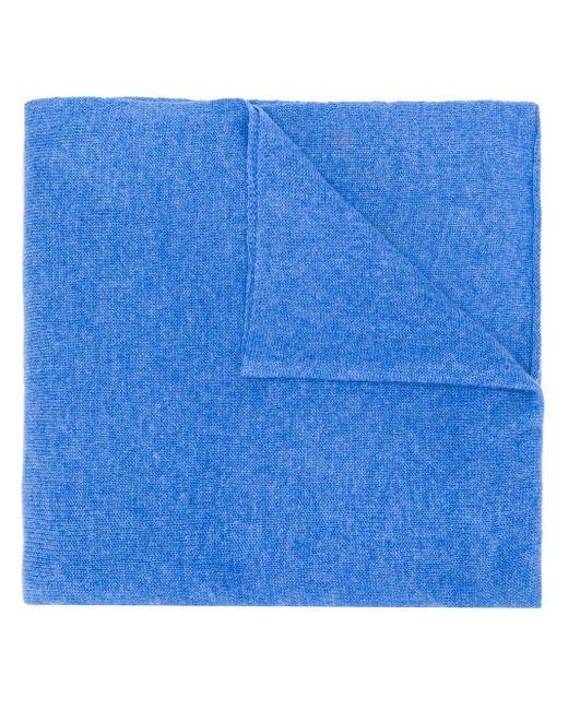 メンズ Dell'Oglio カラーブロック スカーフ Blue