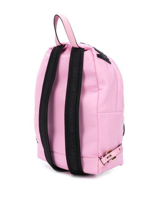 Moschino テディベア バックパック Pink