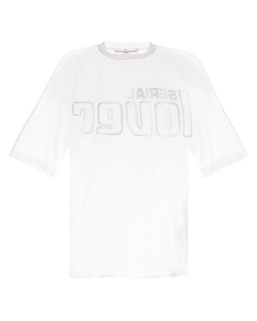 メンズ Golden Goose Deluxe Brand メッシュ Tシャツ Multicolor