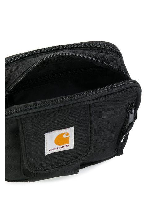 メンズ Carhartt WIP Essentials Minimum メッセンジャーバッグ S Black