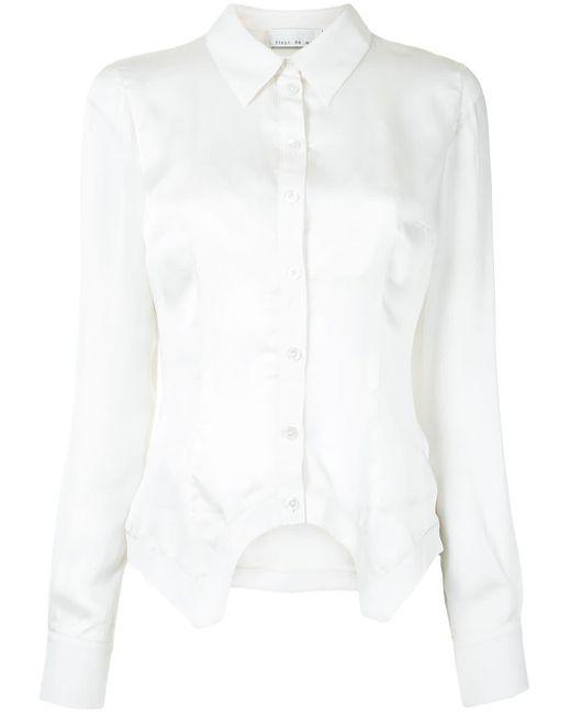 Fleur du Mal ブラレットディテール シャツ White
