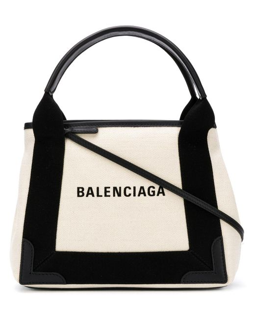 Balenciaga ネイビー カバ トートバッグ S Multicolor
