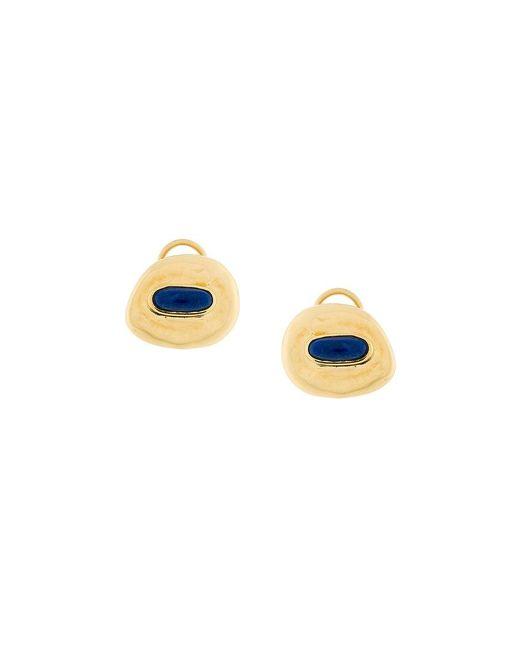 Aurelie Bidermann | Metallic Peggy Lapis Clip-on Earrings | Lyst