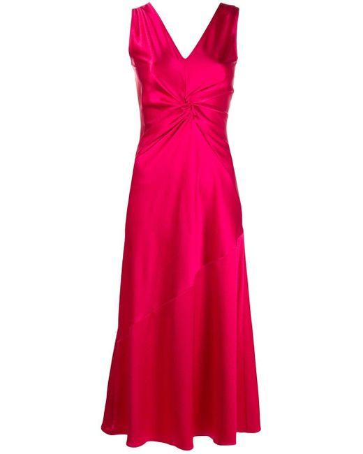 Pinko シャーリング ドレス Pink