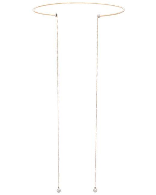 Delfina Delettrez | Metallic String Necklace | Lyst