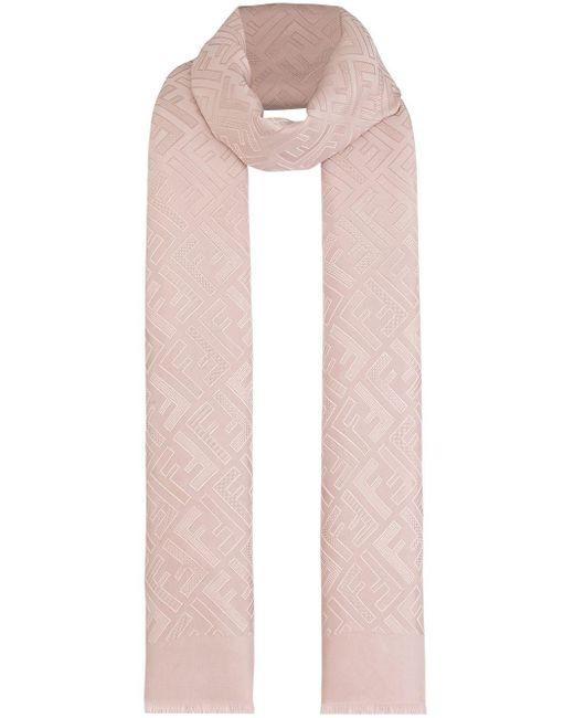 Fendi Ffモチーフ スカーフ Pink