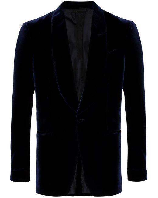 メンズ Tom Ford テーラードジャケット Blue