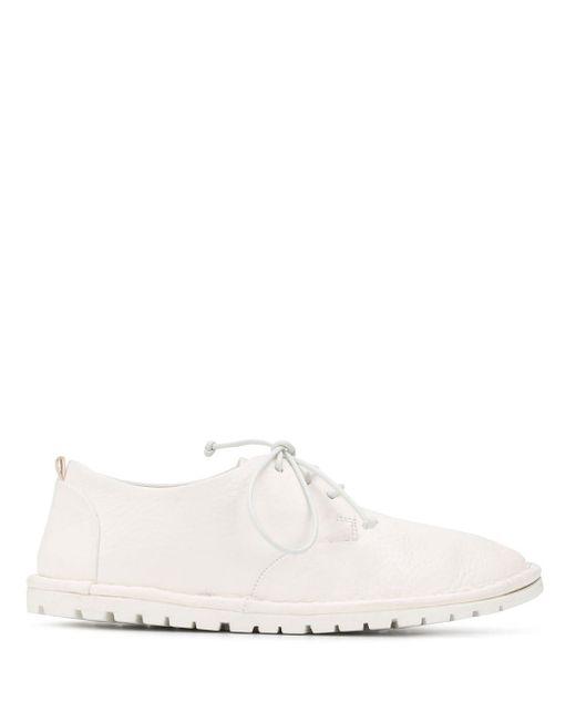 Marsèll White Ridged Sole Shoes