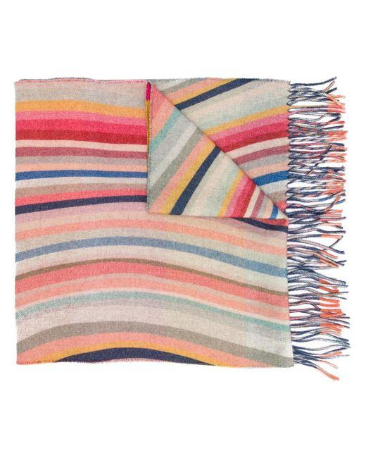 Paul Smith ストライプ スカーフ Multicolor