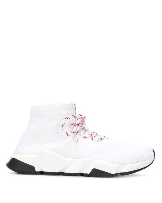 Кроссовки 'speed' Balenciaga, цвет: White