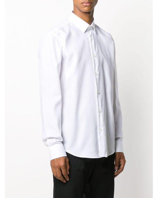 メンズ BOSS by Hugo Boss クラシックシャツ White