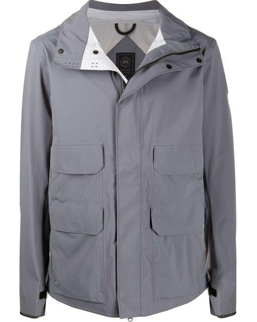 メンズ Canada Goose フーデッドジャケット Gray