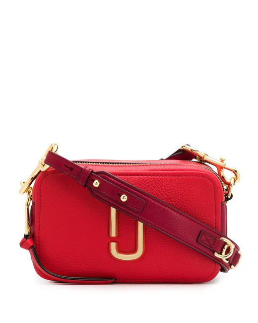 Marc Jacobs The Softshot 21 ショルダーバッグ Red