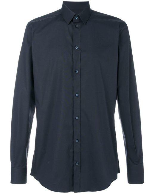 メンズ Dolce & Gabbana フォーマル シャツ Blue