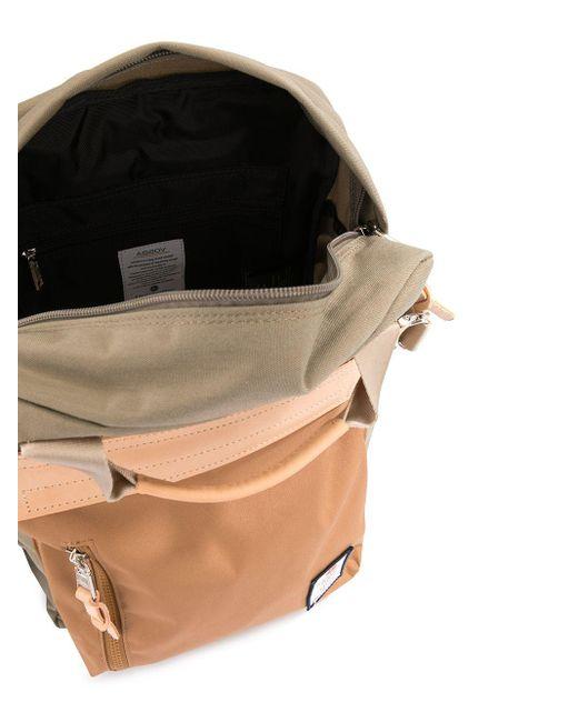 Рюкзак С Контрастными Вставками As2ov для него, цвет: Multicolor