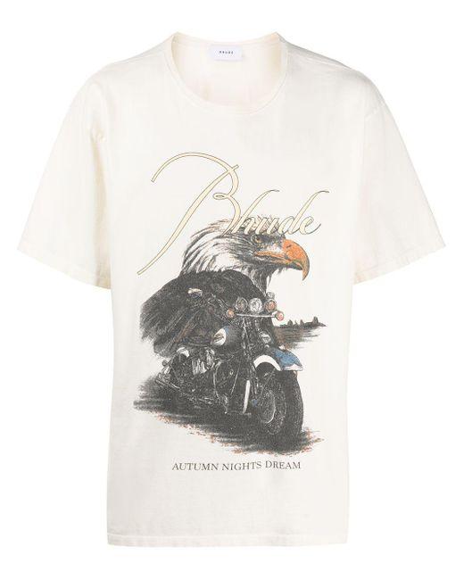 メンズ Rhude Eagle Dream Tシャツ Multicolor