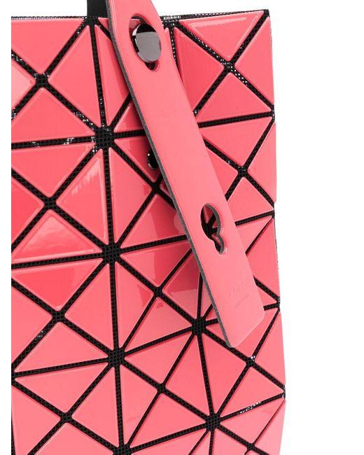 Сумка-тоут Prism Gloss Bao Bao Issey Miyake, цвет: Pink
