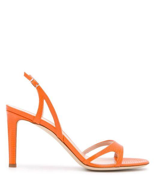 Giuseppe Zanotti ストラップ サンダル Orange
