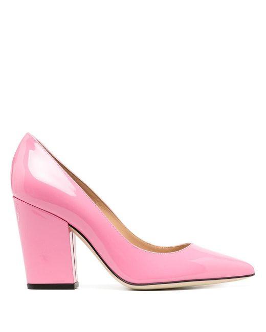 Escarpins Sergio Sergio Rossi en coloris Pink