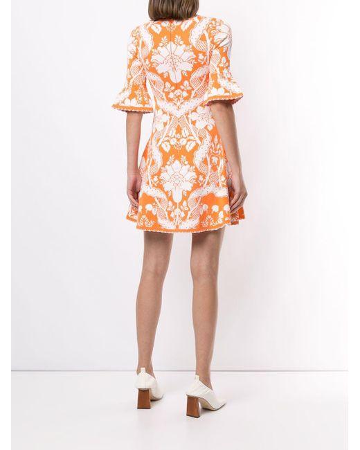 Alice McCALL Sittin Pretty ミニドレス Orange