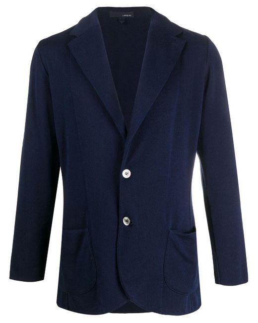 Трикотажный Пиджак Lardini для него, цвет: Blue