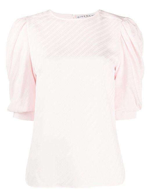 Givenchy パフスリーブ ブラウス Pink