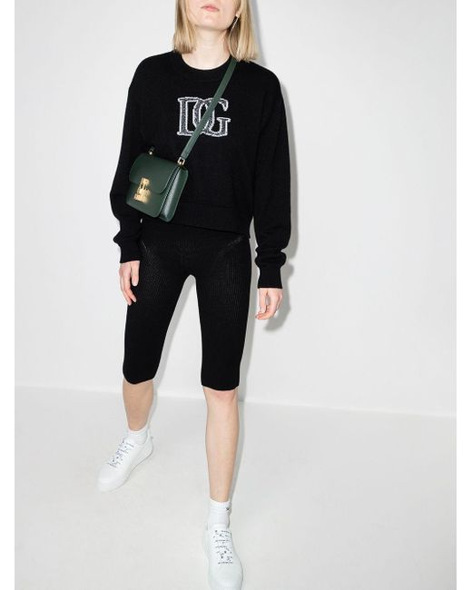 Dolce & Gabbana Dgインターシャ セーター Black
