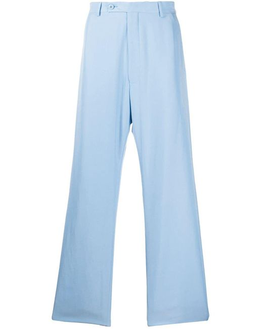 メンズ Martine Rose ストレート テーラードパンツ Blue