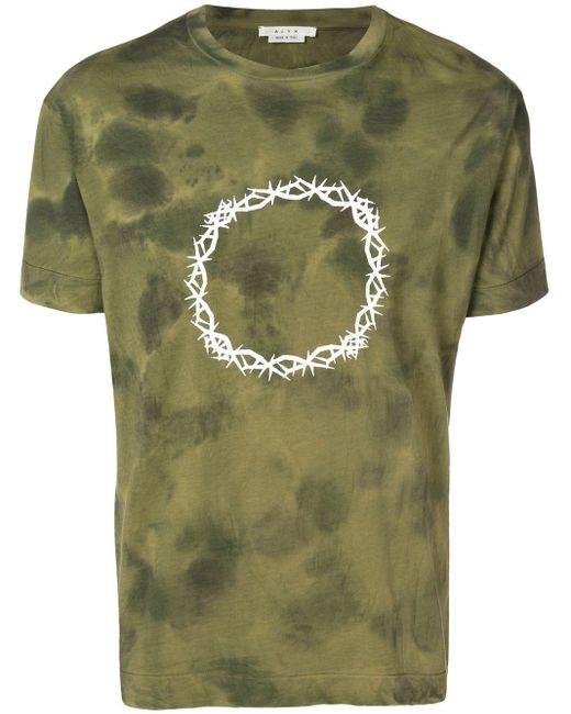 メンズ 1017 ALYX 9SM タイダイ Tシャツ Green