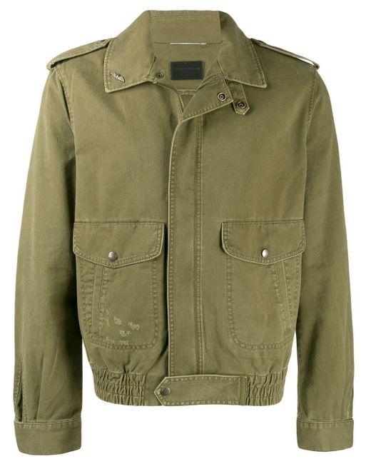 メンズ Saint Laurent ライトジャケット Green