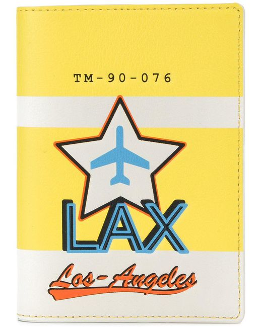 Tila March - Yellow Lax Passport Cover - Lyst