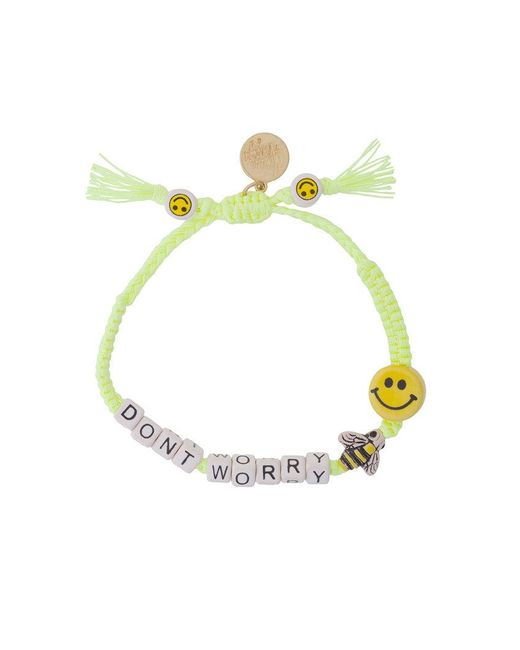 Venessa Arizaga - Multicolor Don't Worry Bracelet - Lyst