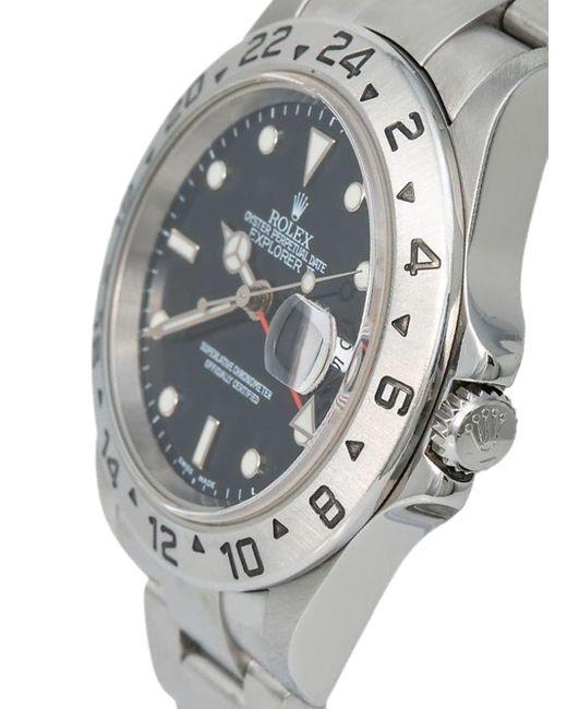 Наручные Часы Explorer Ii Pre-owned 40 Мм 2003-го Года Rolex для него, цвет: Black
