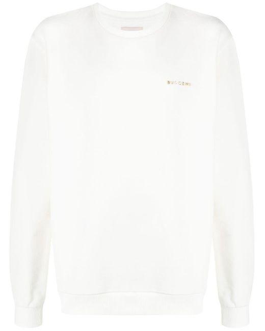 メンズ Buscemi ロゴ スウェットシャツ White