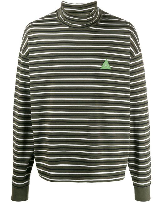 メンズ GR-Uniforma タートルネック セーター Green