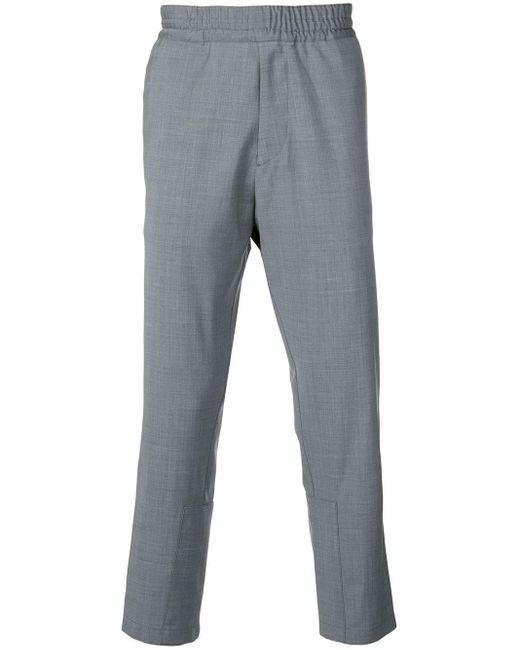 メンズ Prada テーラードパンツ Gray