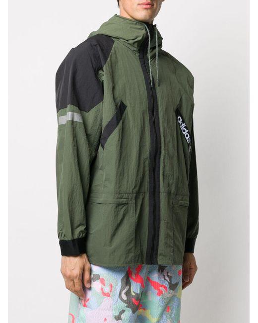メンズ Adidas Adventure ウインドブレーカー Green