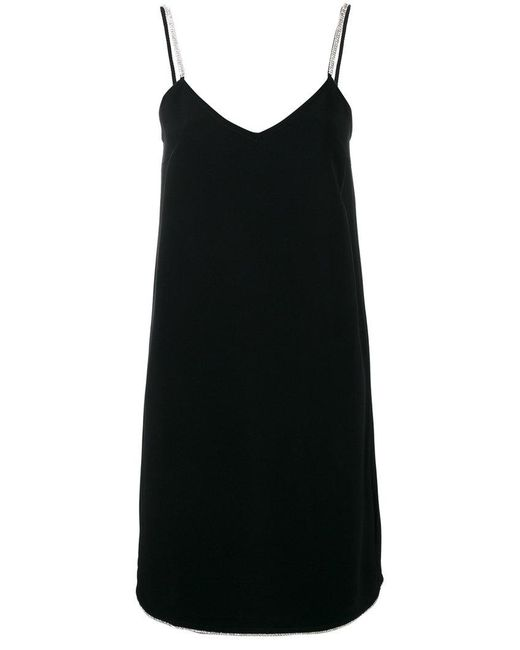 Gianluca Capannolo - Black Cami Dress - Lyst