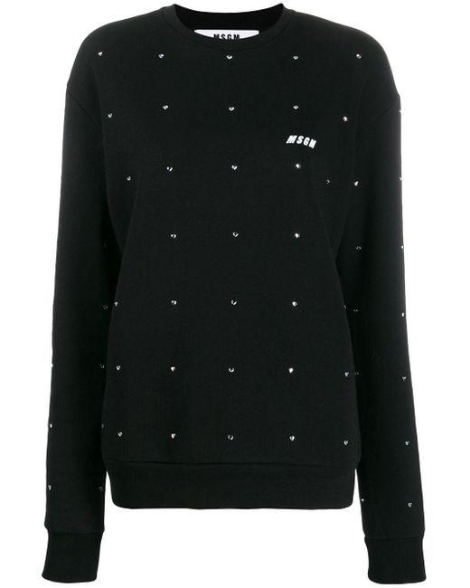 MSGM スウェットシャツ Black