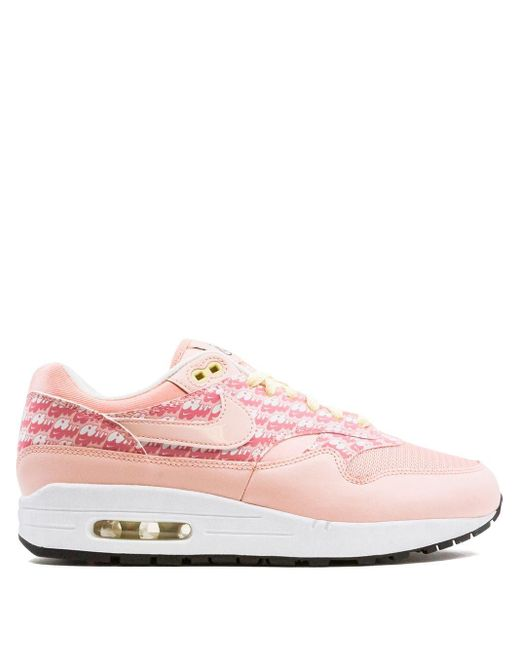 Nike Pink Air Max 1 Sneakers for men