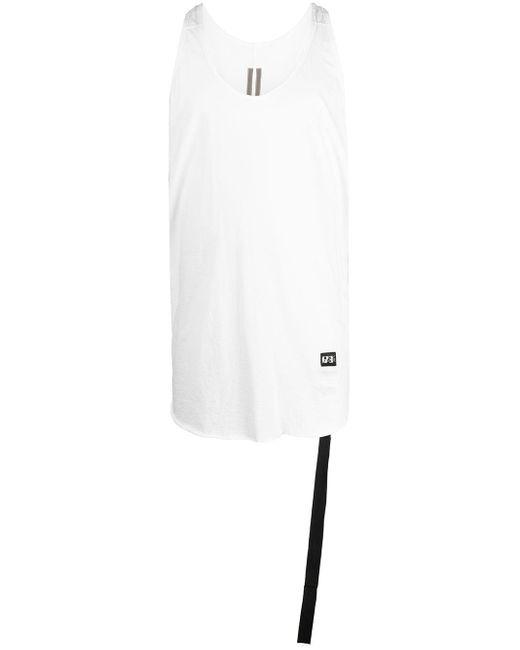 Rick Owens Drkshdw Lockeres Racerback-Trägershirt in White für Herren