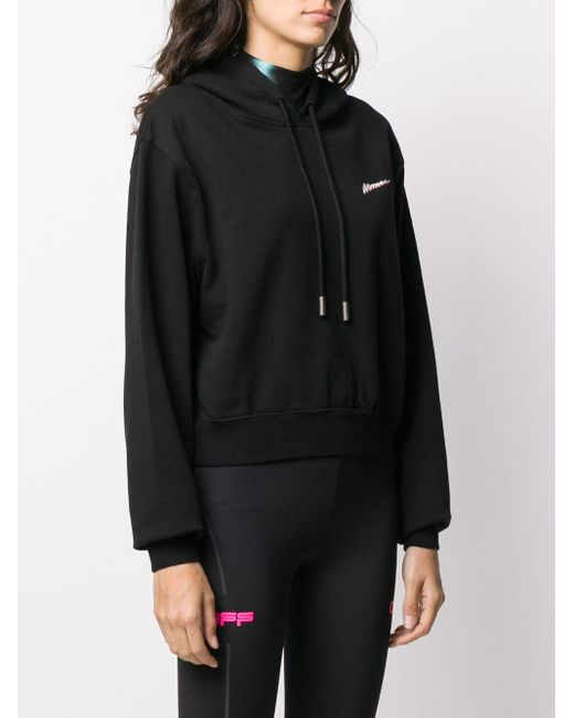 Sweat imprimé à capuche Woman Off-White c/o Virgil Abloh en coloris Black