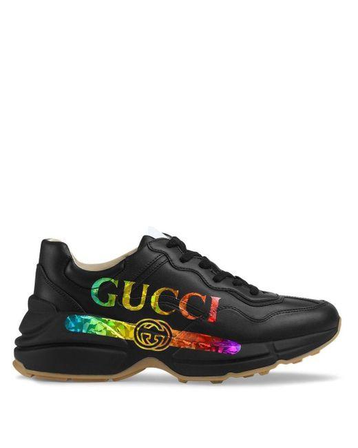 Gucci ライトン スニーカー Black