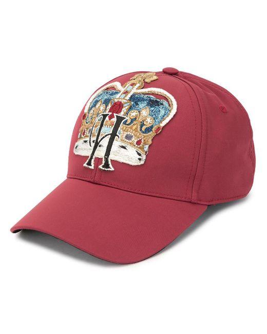 メンズ Dolce & Gabbana Rapper ハット Red