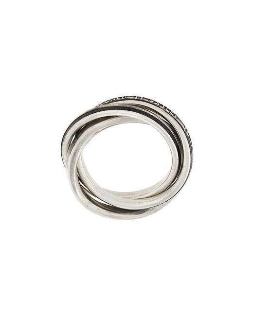 Werkstatt:münchen | Metallic Werkstatt:münchen Stylised Ring for Men | Lyst
