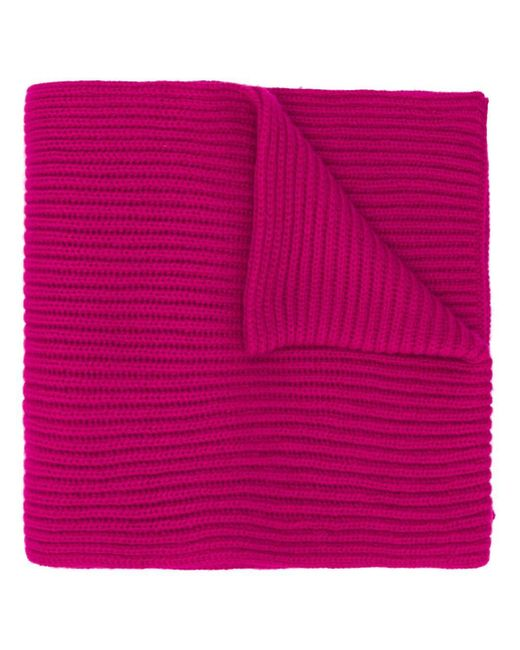 Pringle of Scotland リブ スカーフ Pink